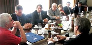 Firma de convenio de cooperación con INTI